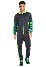 Adidas KNIT Track Suit superstar Sweat Shirt Jacket Top Pant firebird~Men sz Med