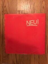 Neu - Debut 1972 Krautrock, Can, Kraftwerk, Rare First UK Press