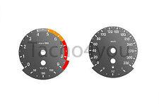 Tachoscheibe für BMW 3er E90 & 5er E60 Benziner 330 kmh km/h M3 M5 5005 Carbon