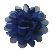 NEW Small Pastel  Fabric Flower Hair Clips Grips Bobbles Bridesmaid Pompom Bride