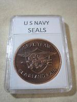 US NAVY SEALS Challenge Coin (Copper)