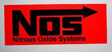 Aufkleber Sticker NOS Nitrous Oxide Systems 345x148 mm   #102