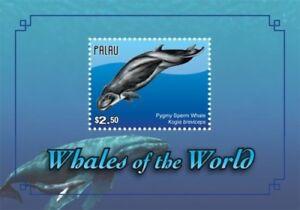 Palau 2011 - Whales of the World Stamp - Souvenir Sheet - MNH