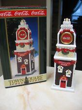 COCA COLA TOWN SQUARE BUILDING - TOWN CLOCK  - 1998 - RETIRED