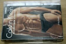 Mens Calvin Klein Microfiber Stretch  Hip briefs 3 pack Size Medium from the USA