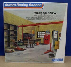 Aurora Racing Scenes 848 Racing Speed Shop Kit 1:16 1974 Complete Unstarted Nice
