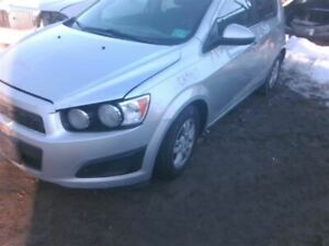 Front Bumper LT Without Fog Lamps Fits 12-16 SONIC 717750