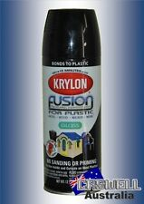 Krylon Fusion Plastic Paint 340gm - Gloss Black- AUS Seller
