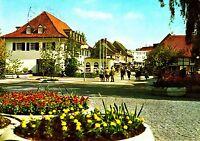 Bad Sassendorf , Kaiserstraße, Ansichtskarte , 1986 gelaufen