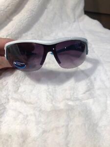 Tifosi - Altar- Gloss White / Teal - Sunglasses 3 Lenses New Interchangeable