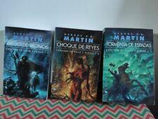 Lote Libros Juego de Tronos Game Of Thrones Novelas