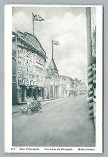 Rue Principale SAINTE ANNE DE BEAUPRE Main Street—Royal Museum—Antique CPA~1930s