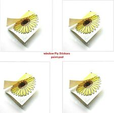 12 x Fly Trap Insect Insects Killer Catcher Bugs Flys Window Sticker Sunflower