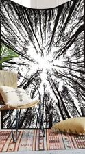 Forest Work Hanging Throw Mandala Tapestry Dorm Decor Beach Blanket 55*85 Hippie