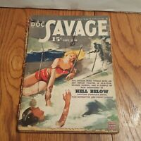 VINTAGE PULP MAGAZINE DOC SAVAGE SEPTEMBER 1943