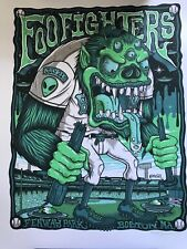 Foo Fighters Poster Boston Fenway Park Limited Edition 7/21/18