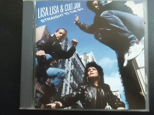 LISA LISA  &  CULT JAM   -  STRAIGHT  TO THE  SKY  ,  CD  1989 ,  HIP HOP, HOUSE