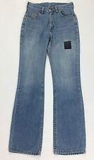 Lee jeans donna w26 tg 40 zampa bootcut loose boyfriend vintage usato blu T183