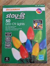 Holiday Sylvania StayLit C9 LED Christmas Lights, 50 ct. - Multicolor