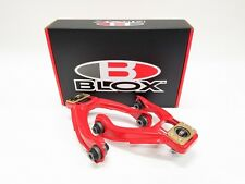BLOX Competition Series Adjustable FRONT CAMBER ARMS KIT 96-00 EK CIVIC RED