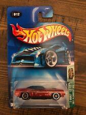New ListingHot Wheels 2003 Treasure Hunt 12/12 1971 Plymouth Gtx red 'cuda