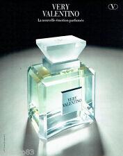 PUBLICITE ADVERTISING 026  1999  Valentino   parfum femme Very