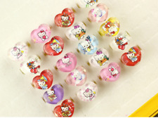 50 pcs Hello Kitty Ring happy birthday party supply girl favor baby shower gift