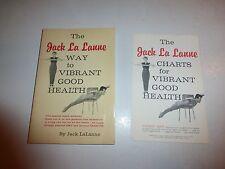 Jack La Lanne Way to Vibrant Good Health SIGNED Paperback 1981, 1st Ed,3rd Pt148