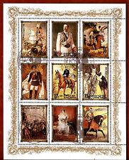 COREA colección 9 Sellos: Historia real de Europa ,La monarquía BX16C
