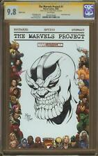 Thanos Skrull Sketch Cover By Mark Kidwell CGC 9.8 Graded