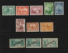 Portuguese Africa - 11 mint stamps