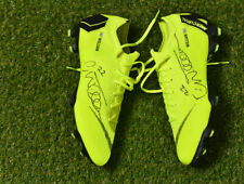 *WILLIAN* MATCH WORN SIGNED BOOTS *CHELSEA F.C. / BRAZIL NATIONAL TEAM*