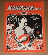 Mandolin Chord Book. Mel Bay's Mandolin Chords. Used, but Good Condition.