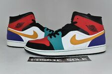 Nike Air Jordan 1 Mid Bred Multi-Color Style # 554724-125 Size 13