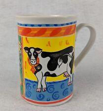 Cow and Swan Coffee Cup Mug
