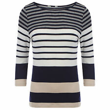 Marks and Spencer Women's Casual Striped Stretch Tops & Shirts