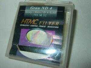 HAMA 793M52 ~ ND-4  D=0,60 ~ Grau Filter 52 mm  ....  (F69)