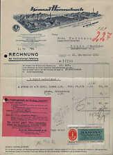 URBACH / WÜRTT., Rechnung 1931, Baumwollspinnerei Konrad Hornschuch AG
