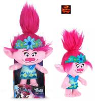 Dreamworks Trolls World Tour Poppy Soft Plush Toy by Posh Paws 10 inch New Boxed