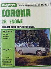toyota corona 2r in car manuals literature ebay rh ebay ie 1970 Toyota Celica 1972 Toyota Corona