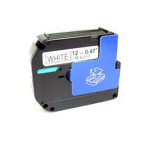 Schriftband kompatibel für Brother MK-231 schwarz auf weiß 12mmx8m PT65 PT90