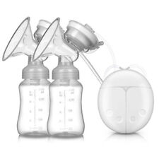 Electric Dual Breast Pump Automatic Double Intelligent Suction Baby Feeder Usb