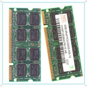 4GB (2X 2GB) 2RX8 PC2-5300S DDR2 667MHz 200 Pin 1.8v SODIMM RAM Memory Non-ECC