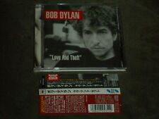"Bob Dylan ""Love And Theft"" Japan CD"
