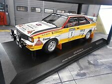 AUDI Quattro Rallye Gr.B 1984 NZ Neuseeland #1 Röhrl HB NEU Minichamps 1:18
