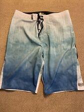 Mens oneill superfreak Board Shorts Swimsuit Trunks 29 blue