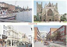 Devon Postcard - Views of Exeter - Ref BH6167