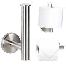 Bad-Serie-Piazza - Toilettenpapierhalter, aus hochwertigem Edelstahl, 2 in 1