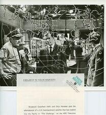 SKIP HOMEIER BRODERICK CRAWFORD IN WAR ROOM THE CHALLENGE 1971 ABC TV PHOTO