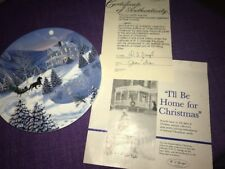 W.S. George China The Spirit of Xmas Collection/I'll be home for Xmas by Jean Si